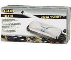 Hagen glo elettronica doppia lampada 24w t5ho