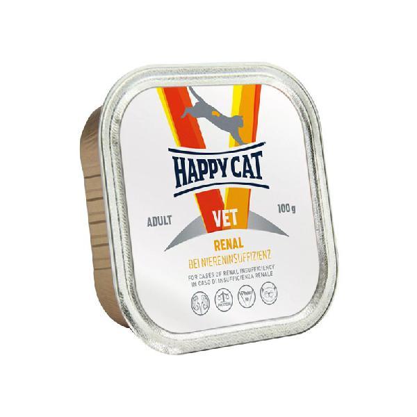 Happy cat vet adult renal