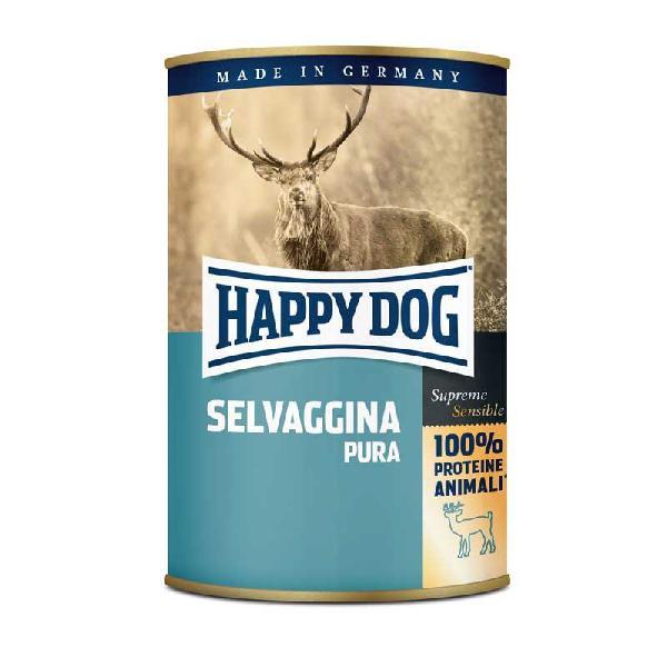 Happy dog monoproteico alla selvaggina per cane