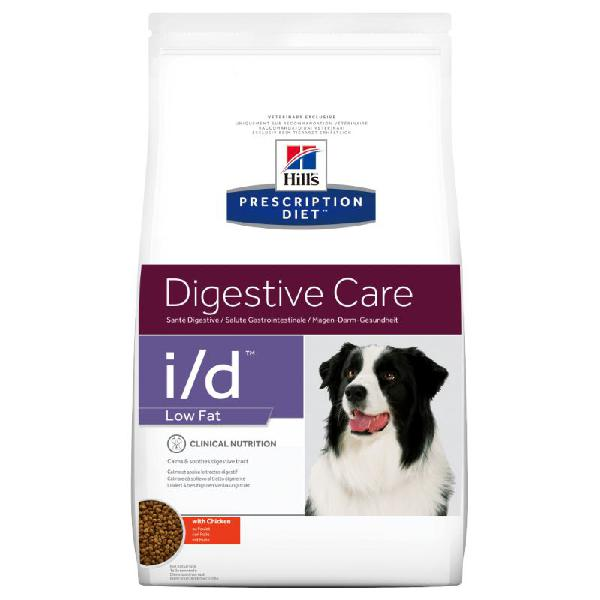 Hill's prescription diet i/d low fat digestive care secco