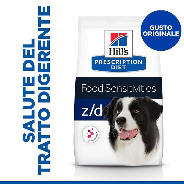 Hill's prescription diet z/d food sensitivities crocchette