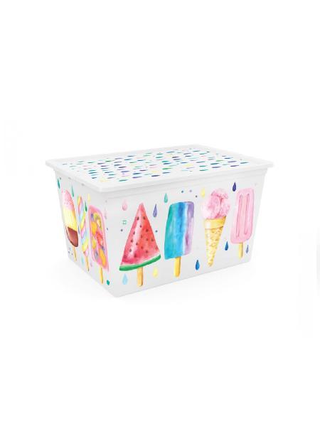 Kis box icecream multiuso con coperchio 50 l - bimbostore