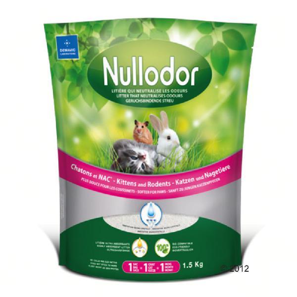 Lettiera nullodor in silicio per gattini e piccoli animali