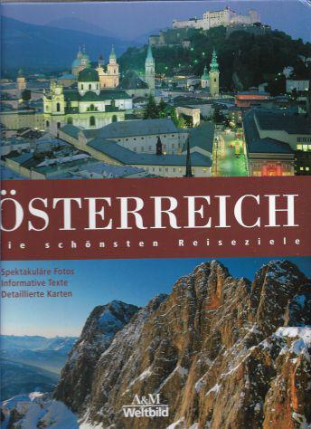 Osterreich (austria) - guida turistica con sei carte