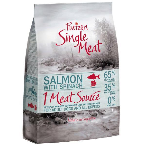 Purizon single meat adult salmone con spinaci - senza