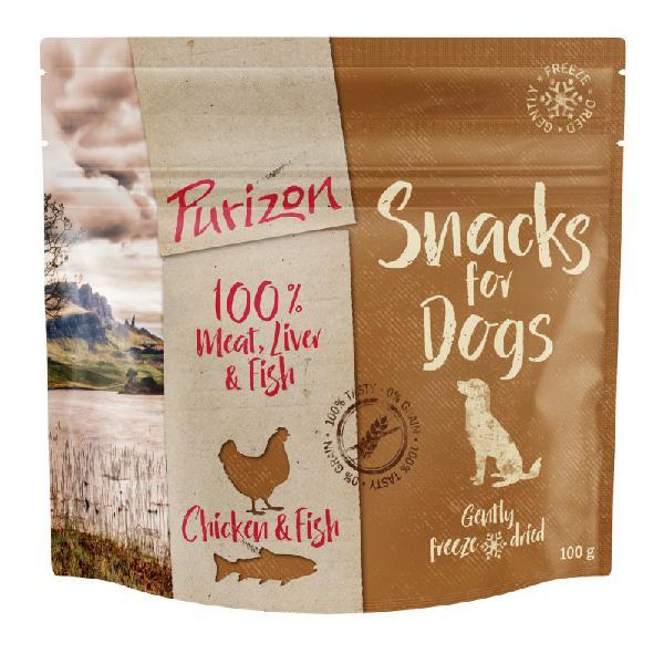 Purizon snack per cani pollo & pesce - senza cereali