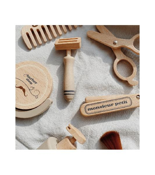 Set gioco in legno facciamo la barba - divertente ed