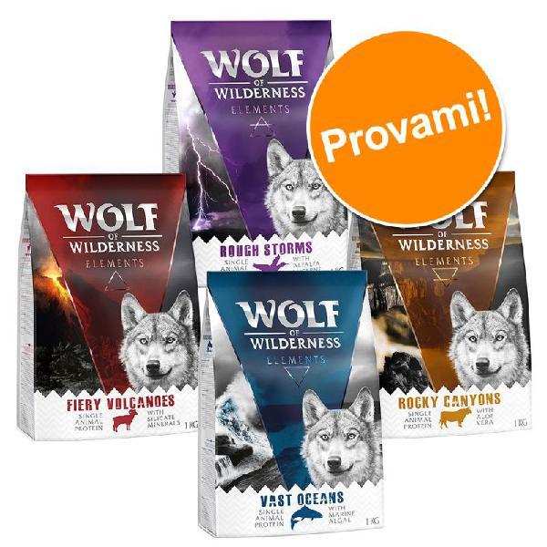 Set prova misto wolf of wilderness elements