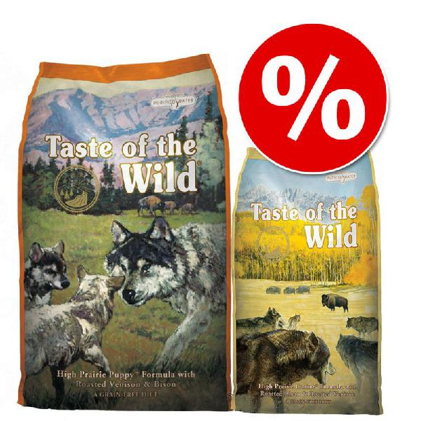 Set transition! taste of the wild - high prairie - verso la