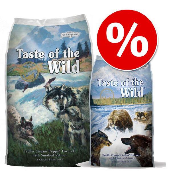 Set transition! taste of the wild - pacific stream - verso