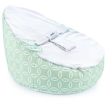 Babyjem poltroncina sacco universal green