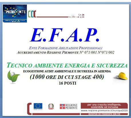 Corso di formazione tecnico ambiente energia e