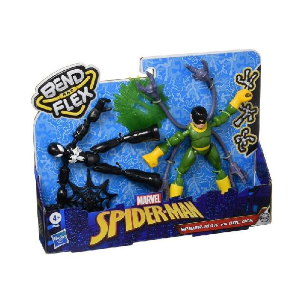 Spiderman bend and flex figures dual pack personaggi