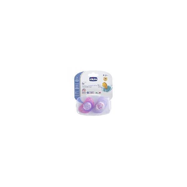 Succhietto air rosa sil 6-12 m 2 pz