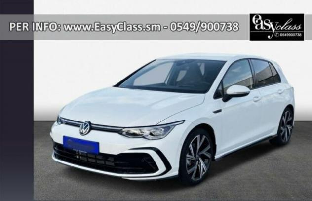 Volkswagen golf 1.5 etsi 150 cv evo act dsg r-line matrix