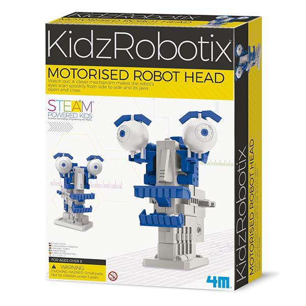 Kidz robotix testa robot motorizzata