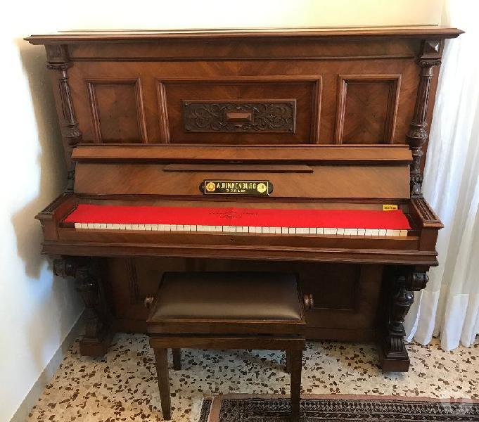 Pianoforte tasti in avorio 1890 - 1900 malcesine - strumenti musicali in vendita