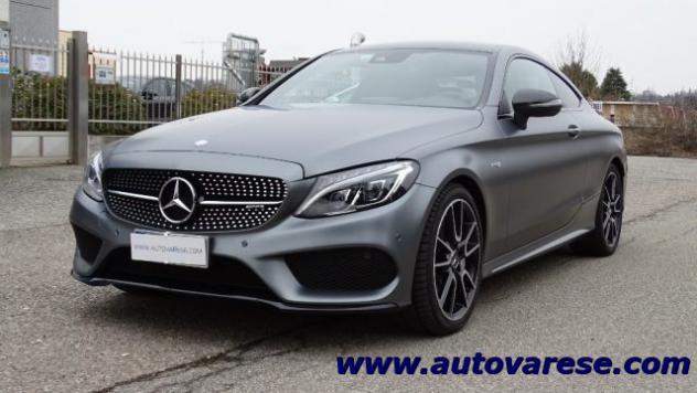 Mercedes-benz c 43 amg 4matic coupé tetto pelle carbonio