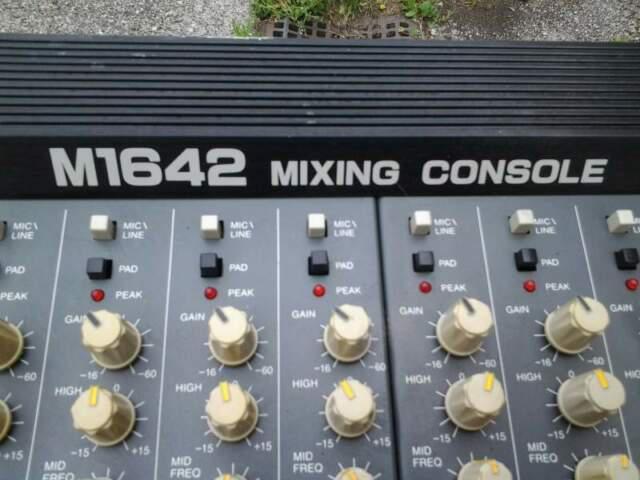 Mixer audio professionale phonic