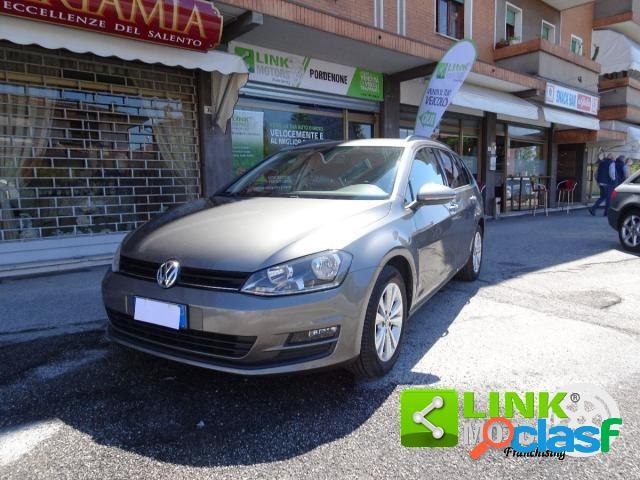 Volkswagen golf variant diesel in vendita a porcia (pordenone)