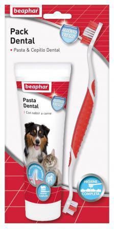 Beaphar pack dentale dentifricio + spazzolino