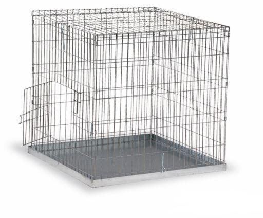 Gaun esposizione gabbia uccelli medi 80 x 80 mm