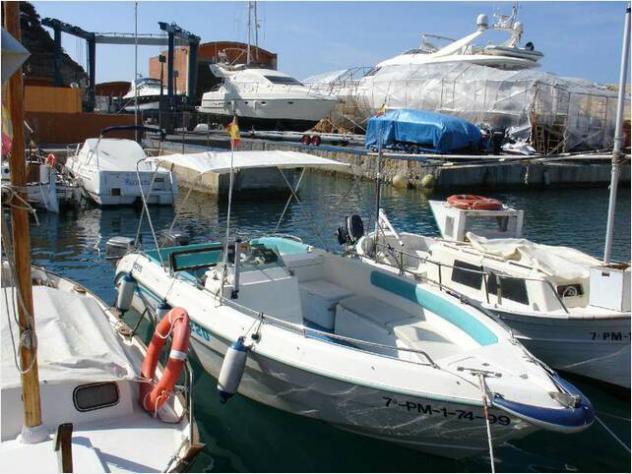 Barca a motorezona neutra gaia 190 cv40 open barca anno2006