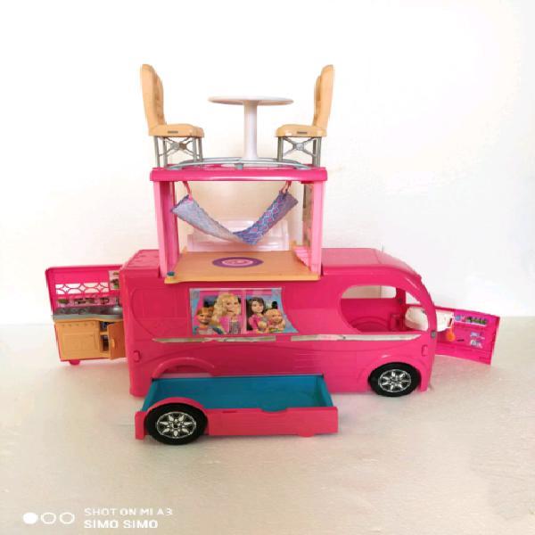 Barbie camper pop up mattel bambola casa gioco vintage