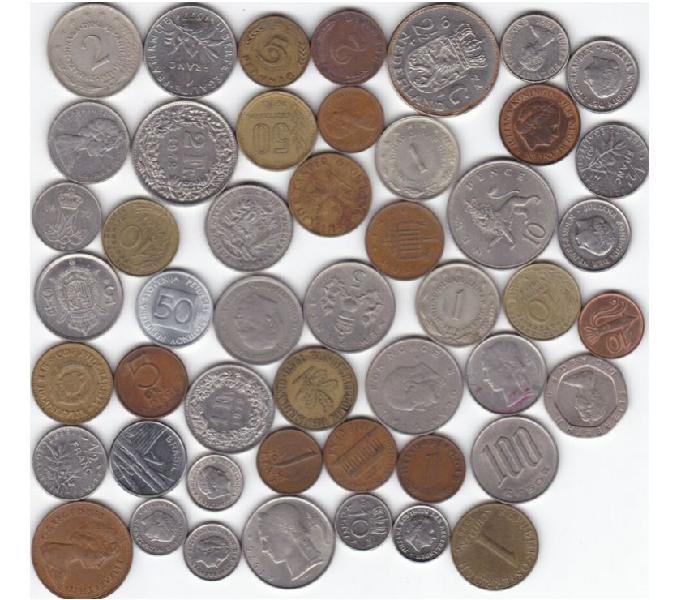 Monete estere, italiane, varie concamarise - collezionismo in vendita