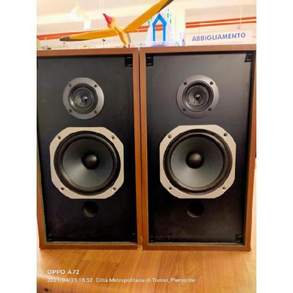 Casse acustiche coppia pioneer struttura legno usato