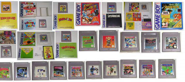 Giochi originali e accessori game boy