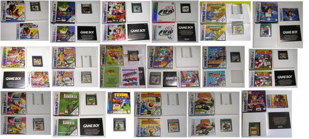 Giochi originali e accessori game boy color