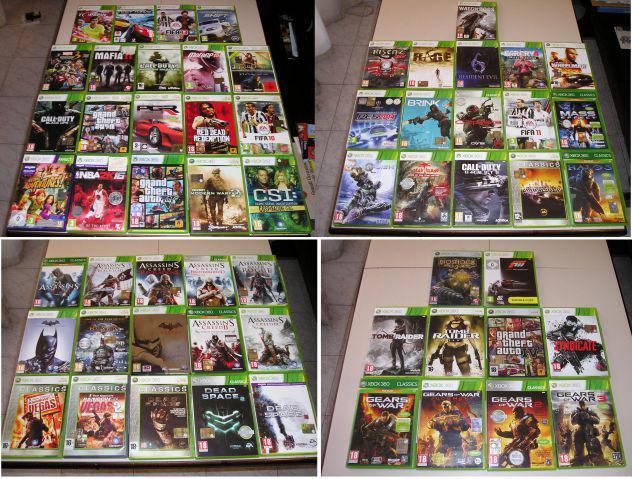 Giochi originali xbox 360 accessori