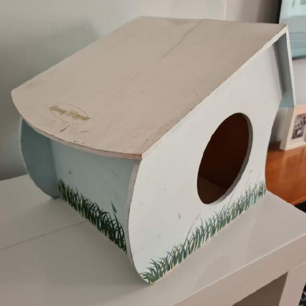 Casetta in legno x coniglio honey & hopper