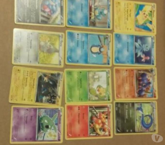 Pokemon - lotto di 100 cards bari - collezionismo in vendita