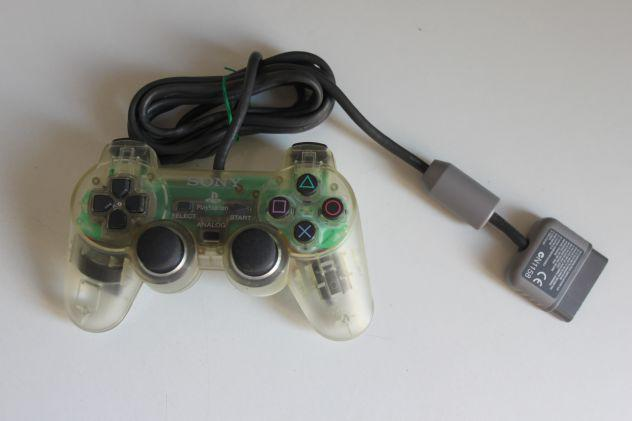 Scph 1200 sony playstation ps1 trasparente controller