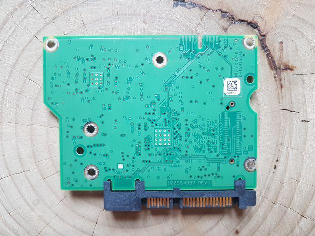 Scheda logica pcb seagate 100664987 rev b per hdd
