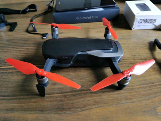 Dji mavic air nero drone pieghevole