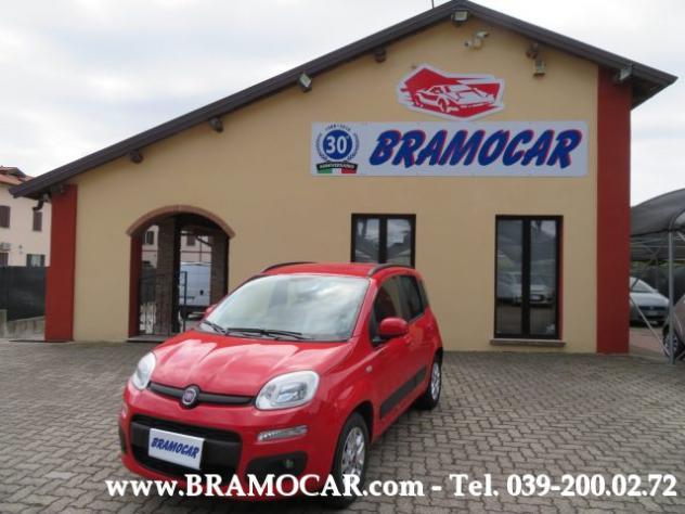 Fiat panda 1.2 69cv lounge - rossa - km 47.007 - per