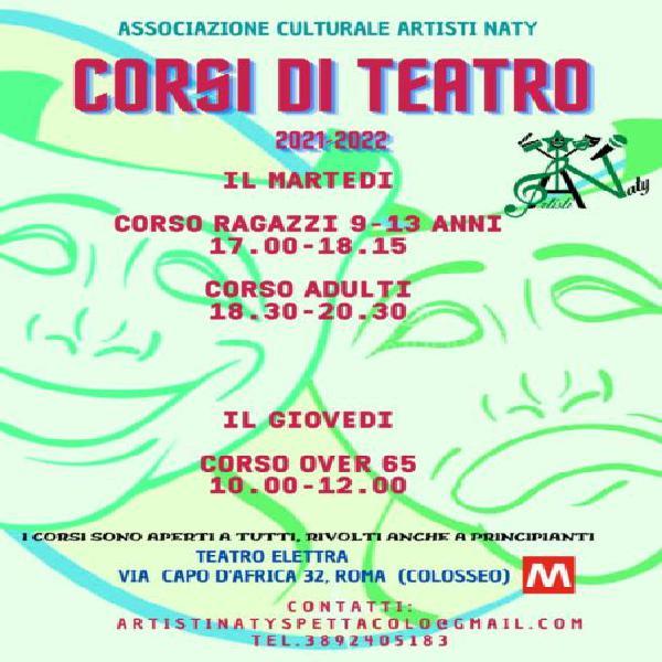 Corsi di teatro a roma (zona colosseo & testaccio)