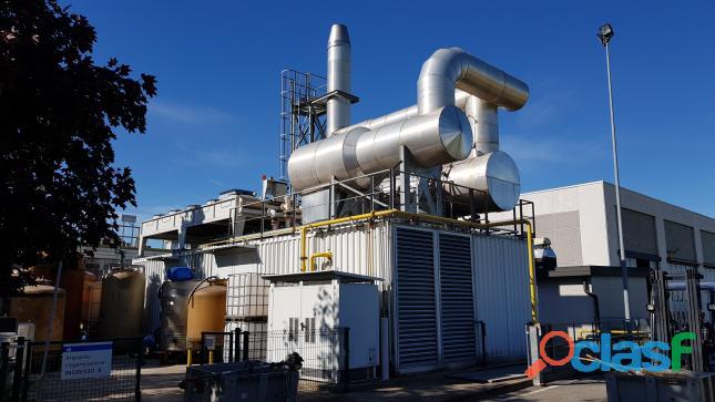 IMPIANTO COGENERAZIONE A GAS NATURALE DA 2,4 MW