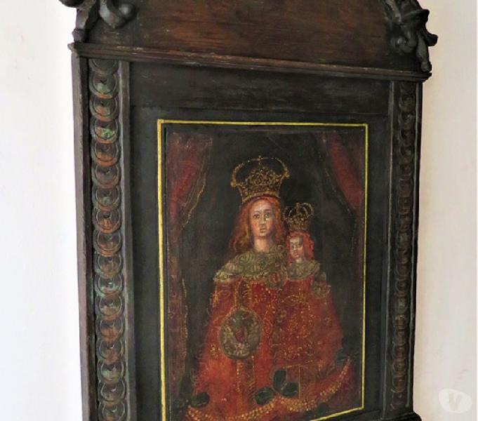 Madonna con bambino arte andina xix° verona