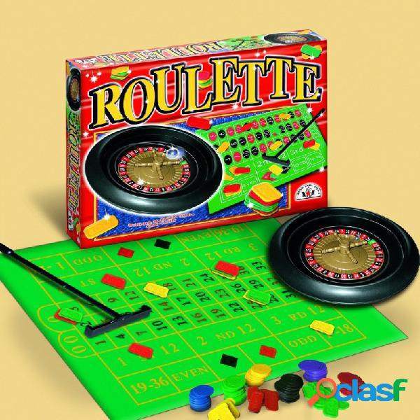 Gioco da tavola super roulette divertimento casino' amici gettoni giochi regalo