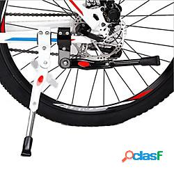 Cavalletto per biciclette regolabile ciclismo per bici da strada mountain bike ciclismo lega di alluminio bianco nero lightinthebox