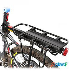 Portabici carico max 50 kg regolabile logo riflettente rivestimento a sgancio rapido ferro bici da strada mountain bike mtb ciclismo / bici - nero / ammortizzante / ergonomico lightinthebox