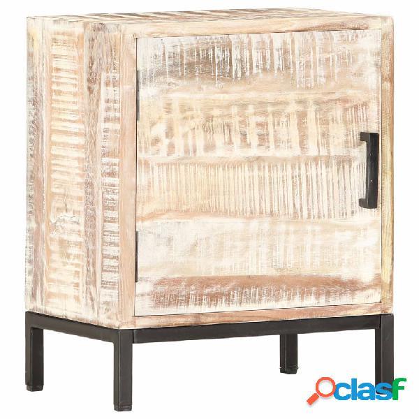 Vidaxl comodino 40x30x50 cm in legno massello di acacia