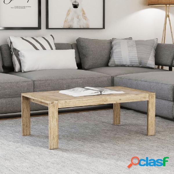 Vidaxl tavolino in legno massello di acacia 100x60x40 cm