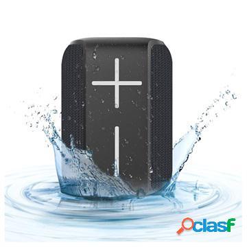 Altoparlante bluetooth wireless portatile hopestar p16 - nero