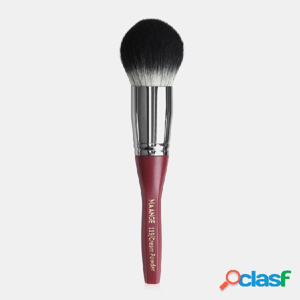 Esagonale trucco pennello blush loose powder pennello strumento di bellezza