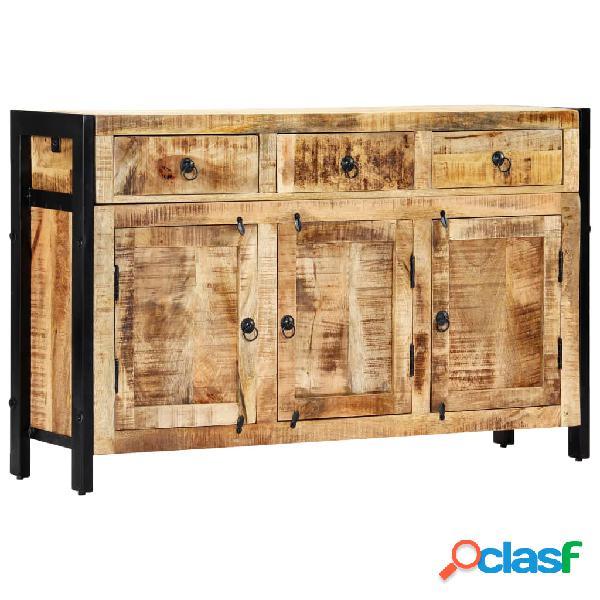 Vidaxl credenza 120x35x76 cm in legno massello di mango